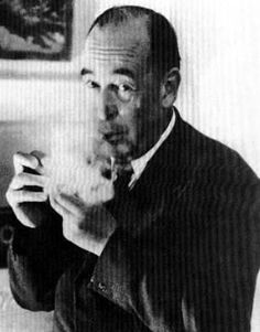 C.S. Lewis smoking Pipe | Flickr - Photo Sharing!