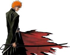 Ichigo reveals his Bankai for the first time to the shocking eyes of the rather arrogant Byakuya.     Kuchiki Byakuya: Be careful of your words It very nearly sounds as though you have reached Bankai  Kurosaki Ichigo: yeah!!! thats what im sayin, KUCHIKI BYAKUYA!!!  Kuchiki Byakuya: what did you say?!  Kurosaki Ichigo: dont ask me again, you heared me or is it that you just cant believe it………….BANKAI!!!!!!!!!