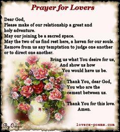 Prayer for Lovers
