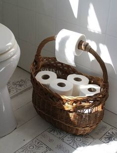 house interior rustic Bath Room Makeover Storage Shelves Ideas For 2019 Diy Home Decor, Room Decor, Toilet Roll Holder, Toilet Roll Basket, Bathroom Interior, Modern Bathroom, Home Organization, Bathroom Organisation, Home Projects