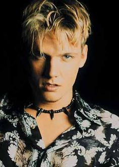 Nick Carter from the Backstreet Boys