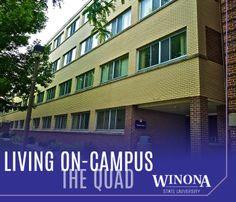 Living On Campus - The Quad | Winona State University