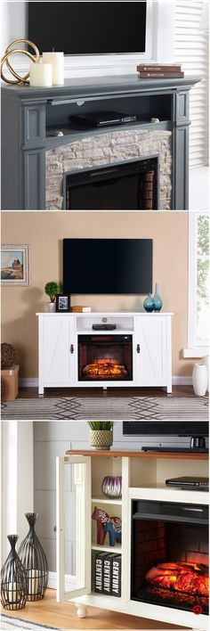 Shop Target for tv/media stand fireplace you will love at great low prices. Free shipping on orders of $35+ or free same-day pick-up in store.