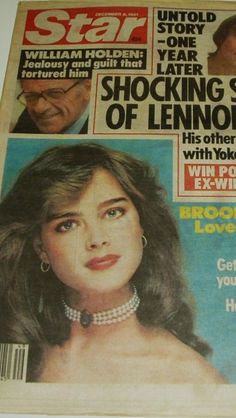 Brooke Shields - Star newspaper United States] (December 1981)