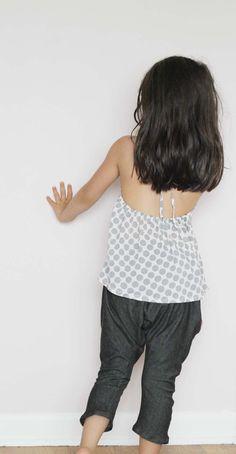 "Monday Outfit: Halter + Suburbia Soup ""You Call It"" Harem Pants | Sanae Ishida"