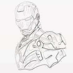 Iron Man Drawing, Photo And Video, Drawings, Artwork, Instagram, Work Of Art, Drawing, Paintings, Paint