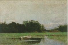 Landscape by Emil Carlsen