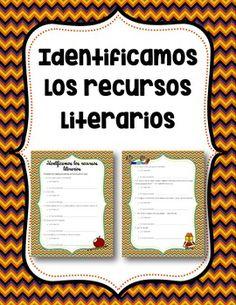 Spanish Literary Devices Notes & Activity - Recursos ...
