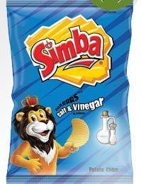Simba Potato Chips - Salt & Vinegar -