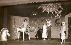 Leonora Carrington stage design