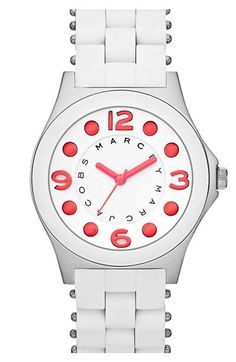 i never really cared for watches, but I like!!! MARC BY MARC JACOBS 'Pelly' Small Watch available at Nordstrom