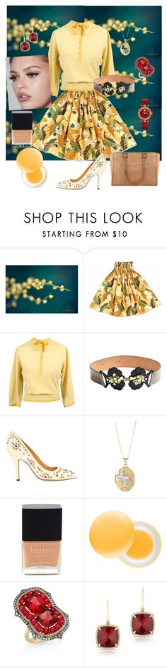 """""""The Darling"""" by scope-stilettos ❤ liked on Polyvore featuring Roberto Cavalli, Isabel Marant, Butter London, It's skin, Chanel, Ivy, Anne Sisteron and Versace"""