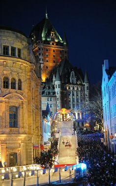 Red Bull Crashed Ice Challenge, Quebec City, Canada