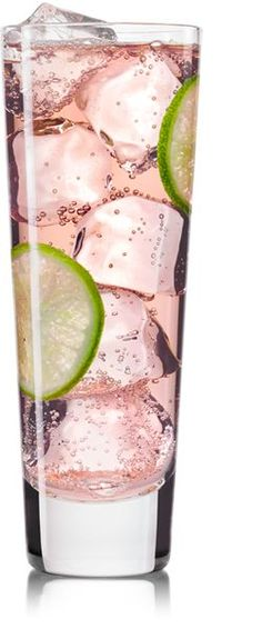 The Starlet - Skinnygirl Cucumber vodka, club soda & SF cranberry juice over ice