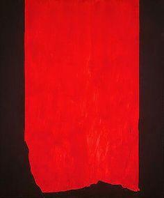 Barnett Newman Achilles 1952 oil on canvas