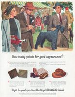 Royal Stetson Casual Hat 1946 Ad Picture