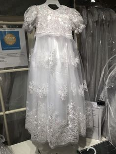 0b8ac5a45 You deserve great deals and we've got them at jcp! See more. Beautiful  Christening Gown | item GHG640. Irridecent sequined gown over a separate  unlined ...