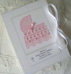 Personalized Petite Photo Album Baptism Keepsake  by Daisyblu, $28.00  Share the Memories !