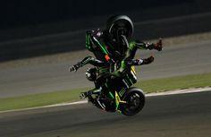 Qatar MotoGP: PICS - Bradley Smith 'goes flying to the moon' | MotoGP News