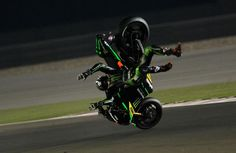 Qatar MotoGP: PICS - Bradley Smith 'goes flying to the moon' | MotoGP News