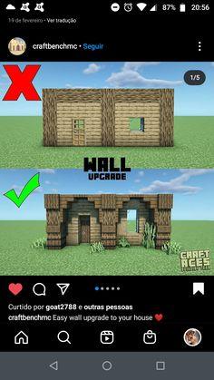 Minecraft Cottage, Minecraft Castle, Cute Minecraft Houses, Minecraft Room, Minecraft Plans, Minecraft Funny, Minecraft Survival, Amazing Minecraft, Minecraft Blueprints