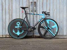 Bicycle Add-on That Make Riding Easier - Bike riding Bicycle Paint Job, Bicycle Painting, Road Bikes, Cycling Bikes, Cycling Jerseys, Cycling Equipment, Bici Fixed, Vintage Bmx Bikes, Fixed Gear Bike
