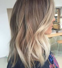 Hair Natural Balayage Haircuts For 2019 Balayage Hair Blonde, Blonde Highlights, Ombre Hair, Soft Balayage, Corte Y Color, Hair Color And Cut, Pinterest Hair, Great Hair, Hair Videos