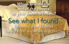 The Best Premium Hotel Down Comforters At Home - http://goosedowncomforterreviews.com/goose-down-bedding-reviews/premium-hotel-down-comforters-at-home/  #sleeptight  Best Of Lists, Goose Down Bedding Reviews, Premium Down and Feather Comforters, Reviews