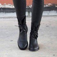 Women's Winter Booties High Heel Kneeboot Winter Booties Fashion Causal Hunter Boots Causal Ladi