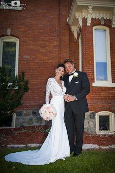 Beautiful Linda - stunning Berta bride from Canada :-)