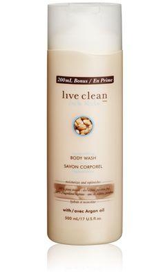 exotic nectar - argan oil body wash