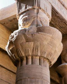 Templo de Isis en Filae. Aswan. #aswan #Isis #philae #egiptologia #egipto #egiptology #egypt (en Isis Temple, Egypt)