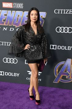 LOS ANGELES, CA - APRIL Ming-Na Wen attends the world premiere of Walt Disney Studios Motion Pictures 'Avengers: Endgame' at the Los Angeles Convention Center on April 2019 in Los Angeles, California. (Photo by Steve Granitz/WireImage) Girl Celebrities, Beautiful Celebrities, Celebs, Asian Woman, Asian Girl, Marvel Women, Marvel Females, Melinda May, Ming Na Wen