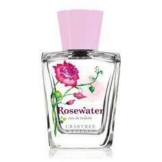 Crabtree & Evelyn Eau de Toilette, Rosewater, 3.4 fl. oz. - http://www.theperfume.org/crabtree-evelyn-eau-de-toilette-rosewater-3-4-fl-oz/