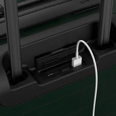 Stay charged so you can keep 'gramming  The Away carry-on charges your phone more than 5 times. #travelaway #thecarryon