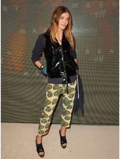 「MARNI at H&M」のローンチイベントにセレブが集結 エリザ・セドナウィ