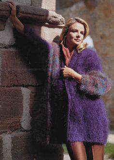 Vintage Wool, Fur Coat, Fashion, Jackets, Breien, Moda, Fashion Styles, Fashion Illustrations, Fur Coats
