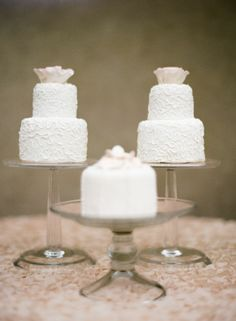 Pretty Little Mini-Cakes | On SMP:  Sylvie Gil Photography
