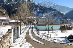 Keran Winter by Asif Saeed [UPLOADING CHINIOT], via Flickr- Pakistan