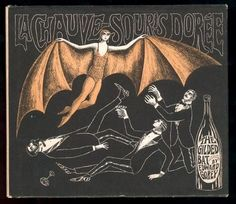 La Chauve-Souris Dorée (the Gilded Bat) by Edward Gorey . Edward Gorey Books, Gothic Art, Batgirl, Dark Art, Pop Art, Illustration Art, Art Illustrations, Author, Drawings