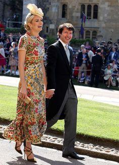 Los detalles del exitoso vestido de Sofia Wellesley en la boda del Príncipe Harry y Meghan Markle, con un click puede ser tuyo