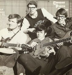 Neil Young with Terry Erickson, Bob Clark, Ken Koblun in Fort William, 1965)  Tumblr