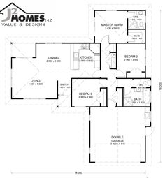 Plan P147 $85000 (kitset) http://www.j2homes.co.nz/acatalog/P147.pdf