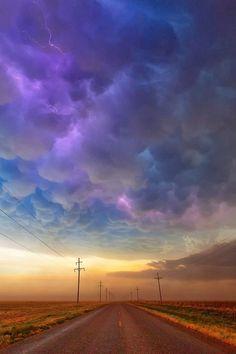 Delightful Cloud Colors in the Sky