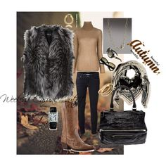 """Autumn Weekend Casual Outfit"" by micaxoxo on Polyvore"