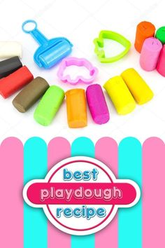 We love making playdough especially with the EASIEST Playdough Recipe EVER. Come find out our secret for the softest playdough. #playdough #playdoughrecipe #easycraftideas