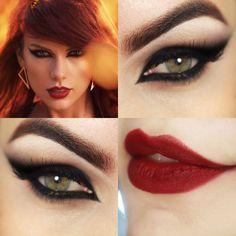taylor swift bad blood makeup - Google Search