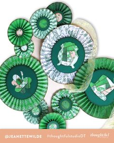 St. Paddy's Door Hanging | #luckytobethoughtful | Jeanette's 3rd Project — thoughtfulstudio