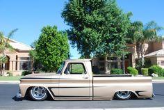 Chevy C10 w Scallop paint job~Visit www.rvinyl.com for the best #AutoAccessories & #AftermarketParts