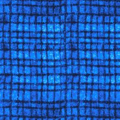 P & B Textiles House Designer - True Blue - Netting in Blue